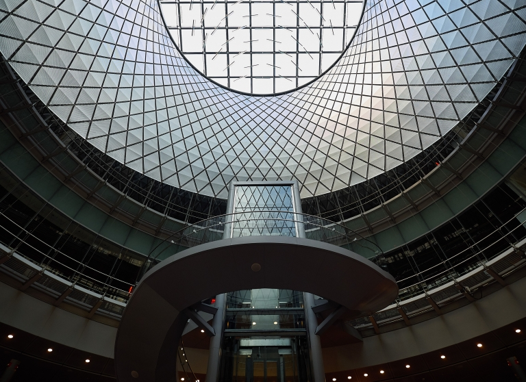 Fulton Center Station, New York, NY © 2014 Thomas Geist